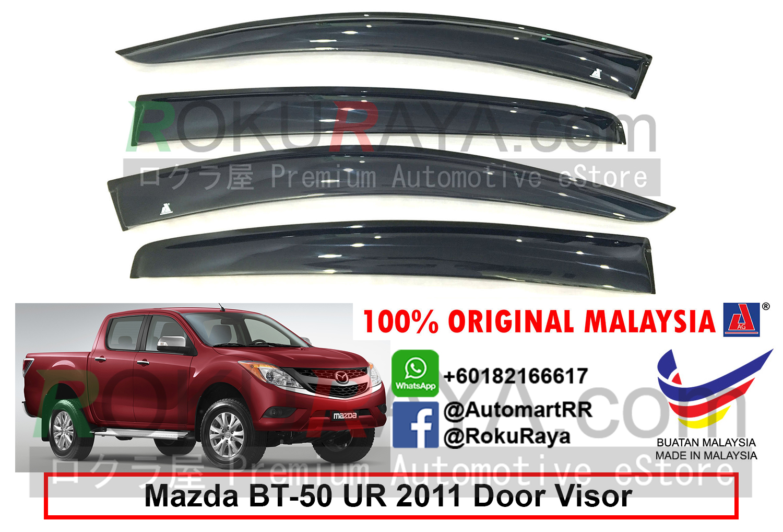 Mazda Bt50 Bt 50 Ur 2nd Gen 2011 Ag Door Visor Air Press