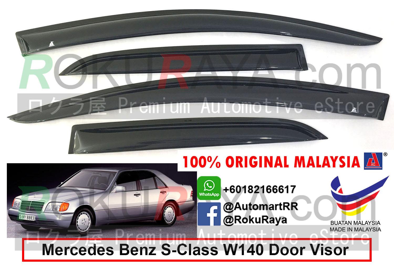 Mercedes Benz (S280 ONLY) W140 1991-1998 AG Door Visor Air